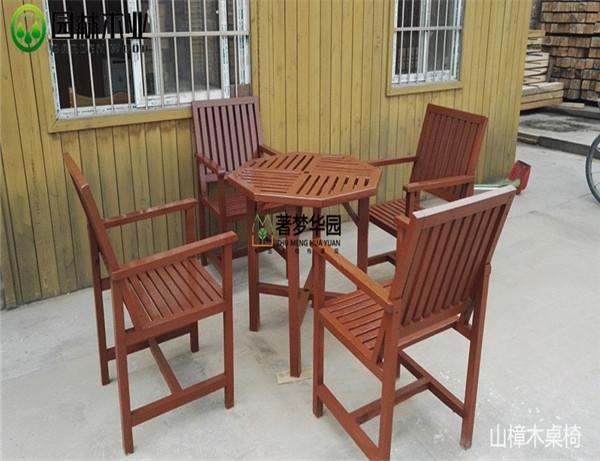 湖北山樟木桌椅