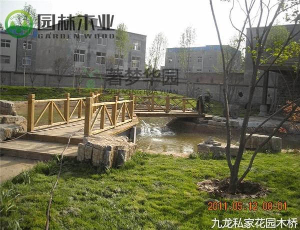 湖北花園木橋