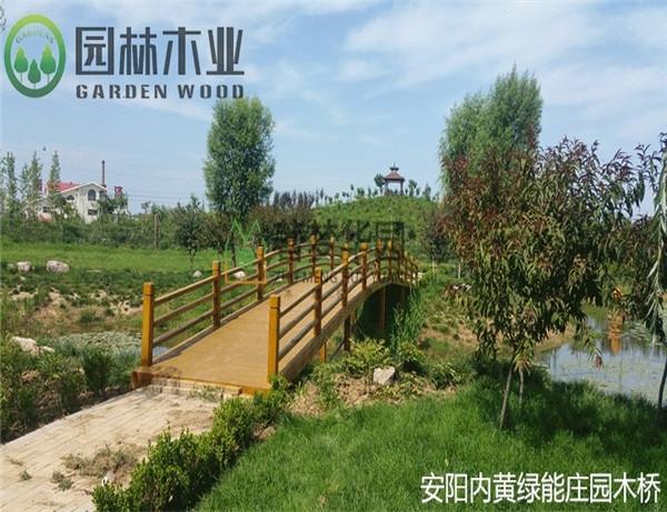 湖北園林木橋
