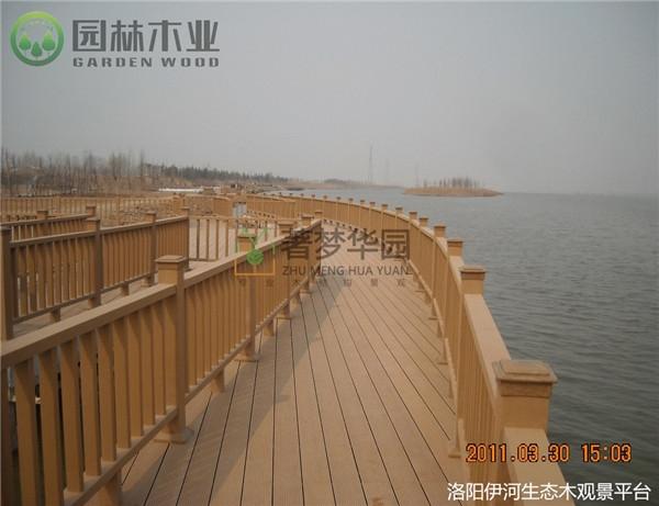 湖北防腐木護欄多少一米