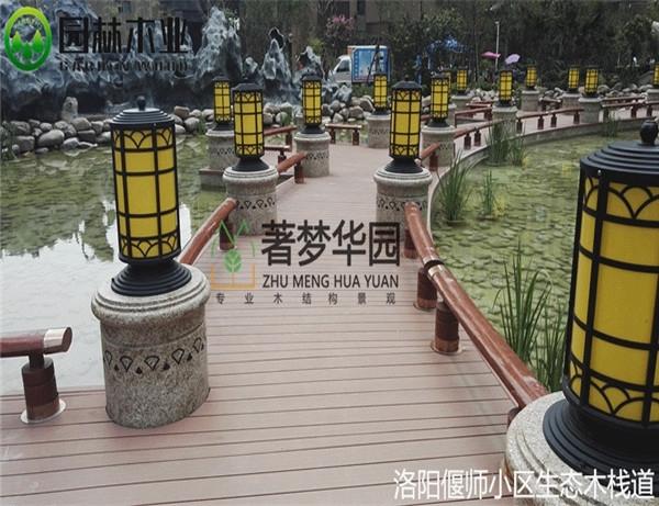 湖北防腐木護欄生產廠
