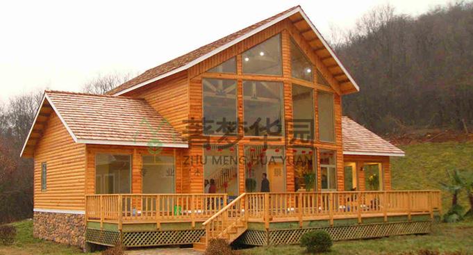 木屋別墅建造廠家,戶外別墅木屋,豪華木屋別墅價格